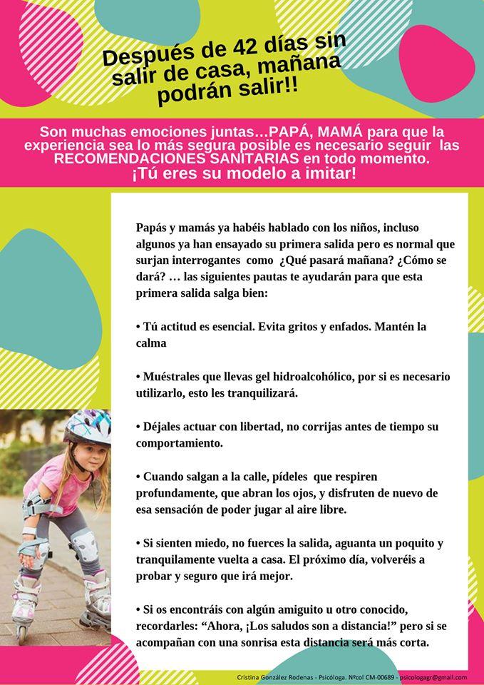 Recomendaciones del Colegio Oficial de la Psicología de Castilla ...